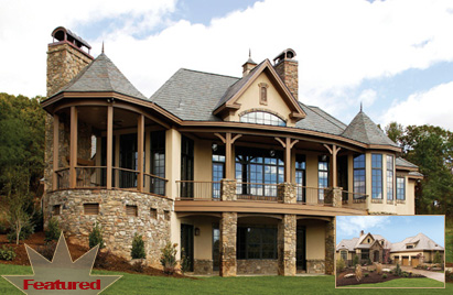 Featured House plan - The Hollowcrest by Donald A. Gardner Architects